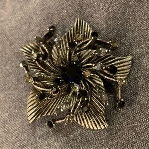 🆕🔥Black Crystal Broach/Pendant